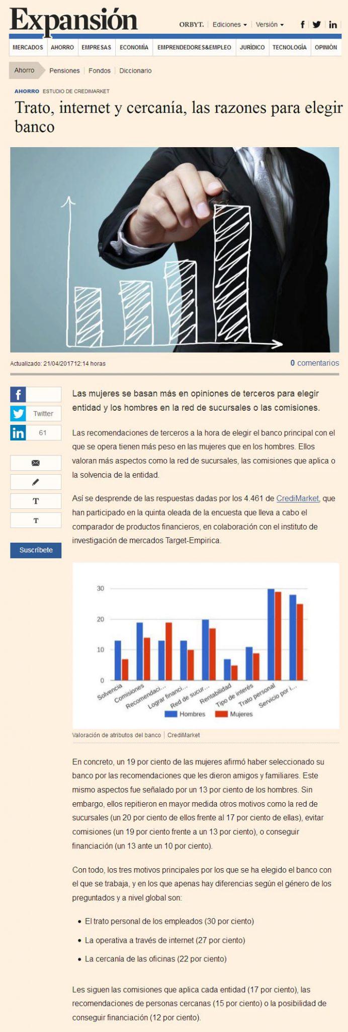 Razones a la hora de elegir banco Financiación Sevilla